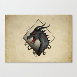 Dragon Hellfire Canvas Print