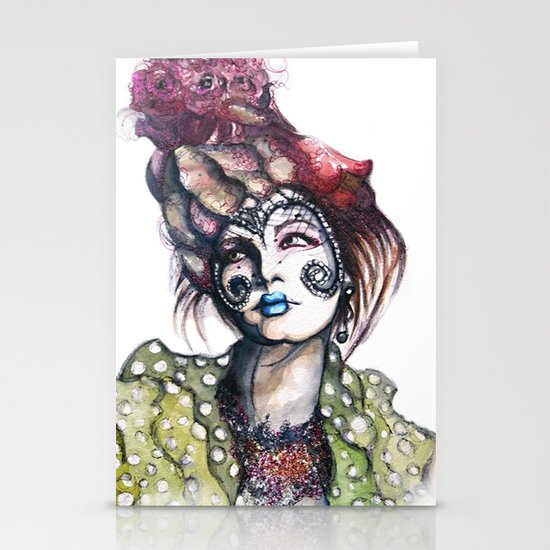 Great Expectations // Fashion Illustration Stationery Cards
