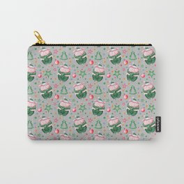 Christmas pig pattern Carry-All Pouch