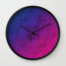 Art Deco Fusion Wall Clock