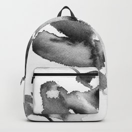 Black Rose watercolor Backpack