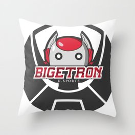 Gamers and Streamers Throw Pillow