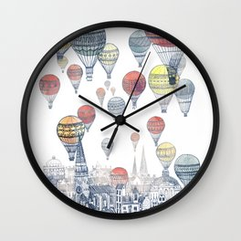 Voyages Over Edinburgh ~ Refresh Wall Clock