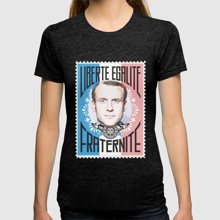 Emmanuel Macron T Shirt By Closeddoor Society6