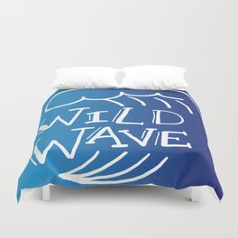 Wild Wave Duvet Cover