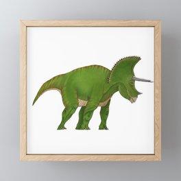Triceratops Framed Mini Art Print