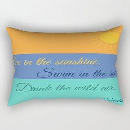 Emerson Knows Summer Rectangular Pillow