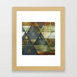 Copper City Framed Art Print