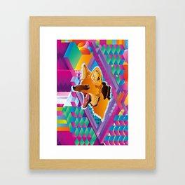 Lobo-guará (Maned wolf) Framed Art Print