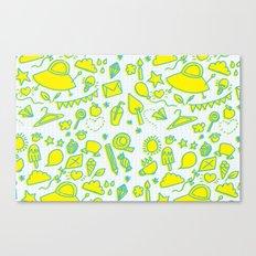 doodle brightness Canvas Print