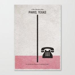 Paris Texas Canvas Print