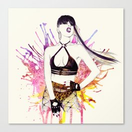 Strong Female Canvas Print