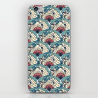 oriental iPhone & iPod Skins featuring Oriental FanTasy by Paula Belle Flores
