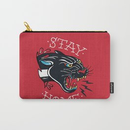 Stay Home Panther Tattoo Carry-All Pouch