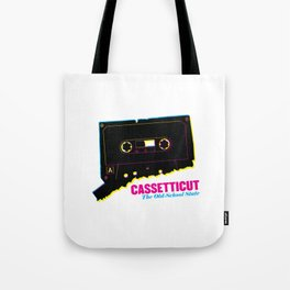 Cassetticut: The Old School State Tote Bag
