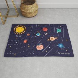 The Solar System Rug