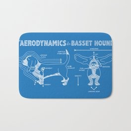 The Aerodynamics of a Basset Hound Bath Mat
