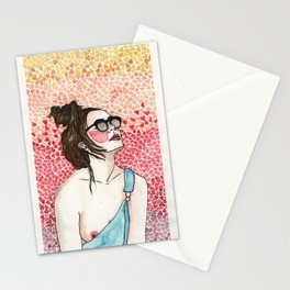 Out of my world Stationery Cards