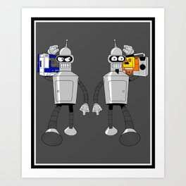 The Future of Good and Evil Art Print