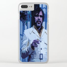 Oliver Bird 2 Clear iPhone Case