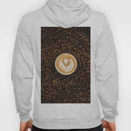 Coffee Beans & Coffee Cup Hoody
