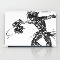 kingdom hearts iPad Cases featuring Vanitas KINGDOM HEARTS by DarkGrey Heroine