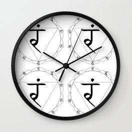 Manipura or manipuraka Wall Clock