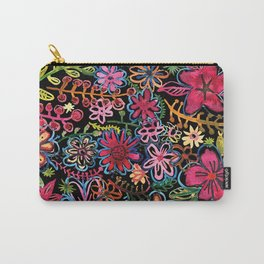 Meadow on black Carry-All Pouch