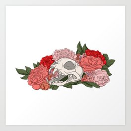 Death Becomes You Art Print