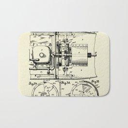 Submarine Torpedo Boat 11-1910 Bath Mat