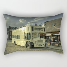 Lodekka Gold Rectangular Pillow