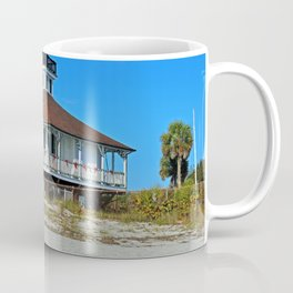 Boca Grande Lighthouse at Christmas Coffee Mug