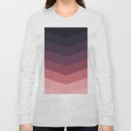 Purple Thunder Storm Long Sleeve T-shirt