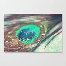 Peacock's Dream Canvas Print