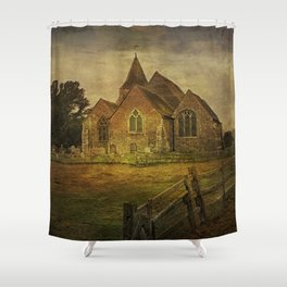 St Clement's Old Romney From The East Shower Curtain