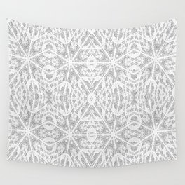 Pattern Grey / Gray Wall Tapestry