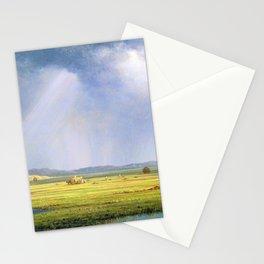 Newburyport Meadows - Martin Johnson Heade Stationery Cards