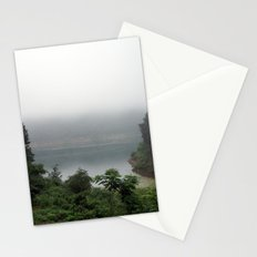 misty pond Stationery Cards