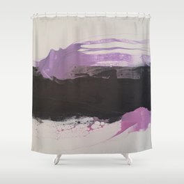 Abstract Fish H Shower Curtain