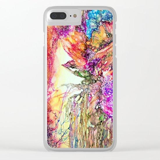 The garden of Eden Clear iPhone Case
