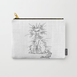 Disgruntled Cat Carry-All Pouch