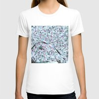 paris map T-shirts featuring Paris map by Bekim ART