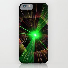 light show iPhone Case
