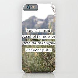 2 Timothy 4:17, Grand Teton iPhone Case