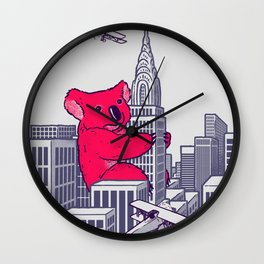 Koala Kong Wall Clock