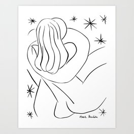 Henri Matisse The Hug Abraccio 1944 Original Artwork Reproduction, Tshirts, Prints, Posters, Men, Wo Art Print