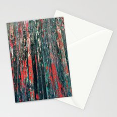 Red Splinters Stationery Cards