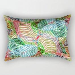 Jungle Leaves Rectangular Pillow