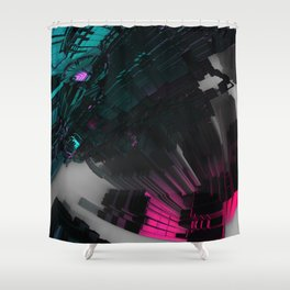 Giant Hand Shower Curtain