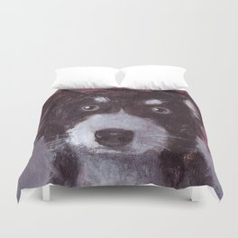 Po the Dog Duvet Cover